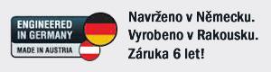 Navrženo v Německu, vyrobeno v Rakousku