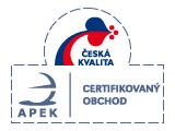 APEK certifikovaný obchod a Česká kvalita