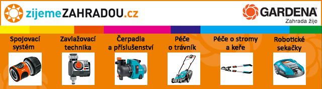 zijemeZAHRADOU.cz - specializovaný obchod s výrobky Gardena