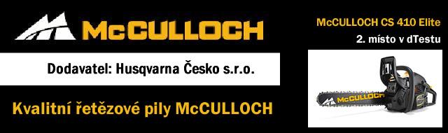 Řetězové pily McCULLOCH Husqvarna