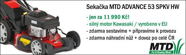 MTD 53 SPKV HW