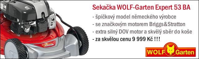 Sekačka WOLF-Garten EXPERT 53 BA - akce
