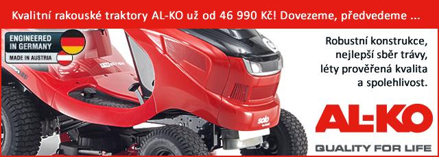 Zahradní traktor AL-KO