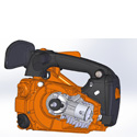 Motorová pila ECHO CS-361WES + sestavení + příprava k provozu