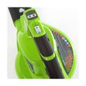 Akumulátorový vysavač listí Greenworks GD40BV s indukčním motorem (včetně nabíječky a akumulátoru 4 Ah)