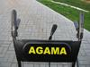 Sněhová fréza AGAMA 651Q + sestavení + příprava k provozu