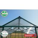 Skleník LANITPLAST PLUGIN 8x12 zelený + záruka 10 let na polykarbonát