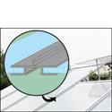 Skleník LANITPLAST PLUGIN 8x12 stříbrný + záruka 10 let na polykarbonát
