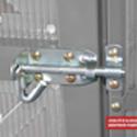 Skleník LANITPLAST DODO BIG 8x10 PC 4 mm šedý + záruka 10 let na polykarbonát