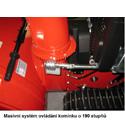 Sněhová fréza VeGa 1101 LUX + sestavení + příprava k provozu