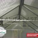 Skleník VITAVIA URANUS 11500 PC 4 mm stříbrný + záruka 10 let na polykarbonát