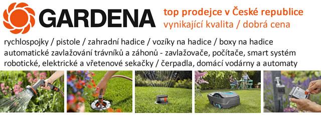 TOP PRODEJCE GARDENA