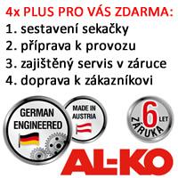 Sekačky AL-KO: 4x PLUS pro Vás.