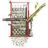 Weibang WB SH 8013 H benzinový drtič větví