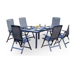 V-Garden luxusní zahradní stolová sestava JADRAN SET 6-Al