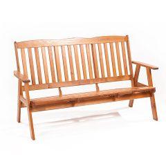 OLIVER - třímístná zahradní lavice