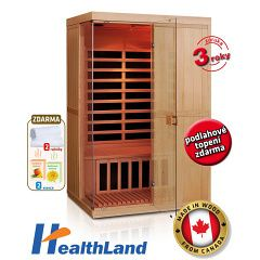 Infrasauna Healthland DeLuxe 2200 Carbon BT