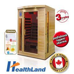 Infrasauna Healthland DeLuxe 2220 CB/CR