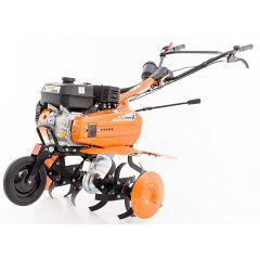 Benzinový kultivátor RURIS DAC 7009K ACC + foukaná kola + hrobkovač + ocelová kola + radlice + kultivátor + sestavení + příprava k provozu