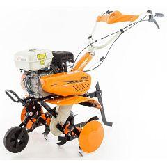 Benzinový kultivátor RURIS DAC 7099 + foukaná kola + hrobkovač + radlice + sestavení + příprava k provozu
