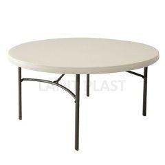 LIFETIME - kulatý skládací stůl 152 cm (80121)