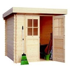 Dřevěný zahradní domek LANITPLAST ADELA 200 x 200 cm