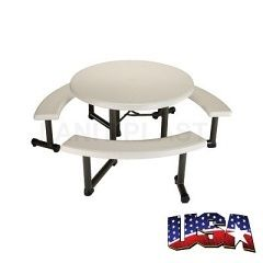 LIFETIME - piknikový stůl + 3x lavice (22127)