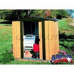 Kovový zahradní domek ARROW WOODLAKE 65