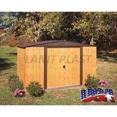 Kovový zahradní domek ARROW WOODLAKE 108