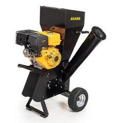Benzinový drtič větví AGAMA FYS-13 L + sestavení + příprava k provozu