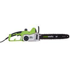 Elektrická pila Greenworks GCS2046 + sestavení + příprava k provozu