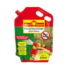 WOLF-Garten trávníkové hnojivo proti mechu LM 250 R - náhradní náplň