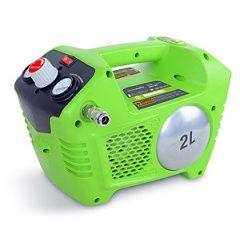 Akumulátorový kompresor Greenworks G40AC