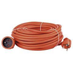 Prodlužovací kabel oranžový spojka, 30m